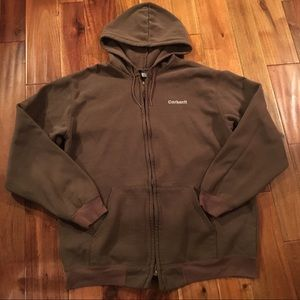 Full zip carhartt hooded